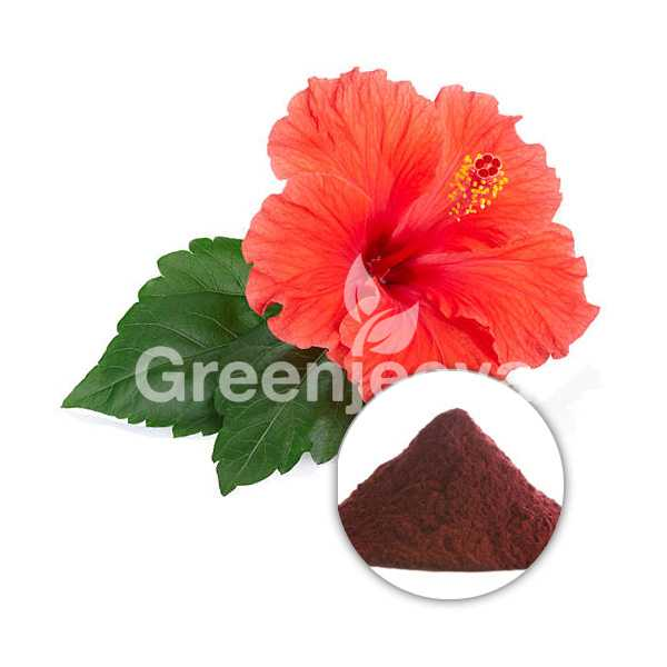 Hibiscus aerial powder