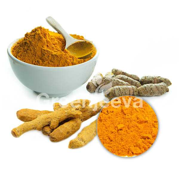 Turmeric root extract powder 95% Curcuminoids HPLC