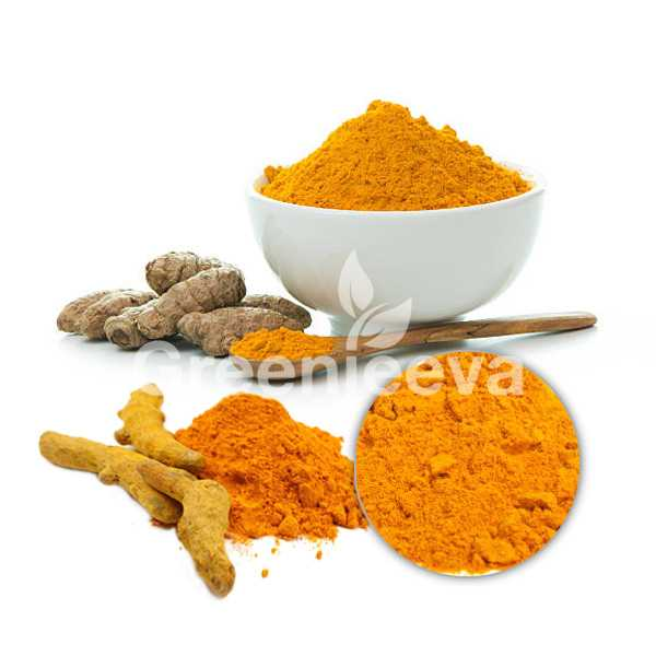 Turmeric root extract powder 95% Curcuminoids, HPLC